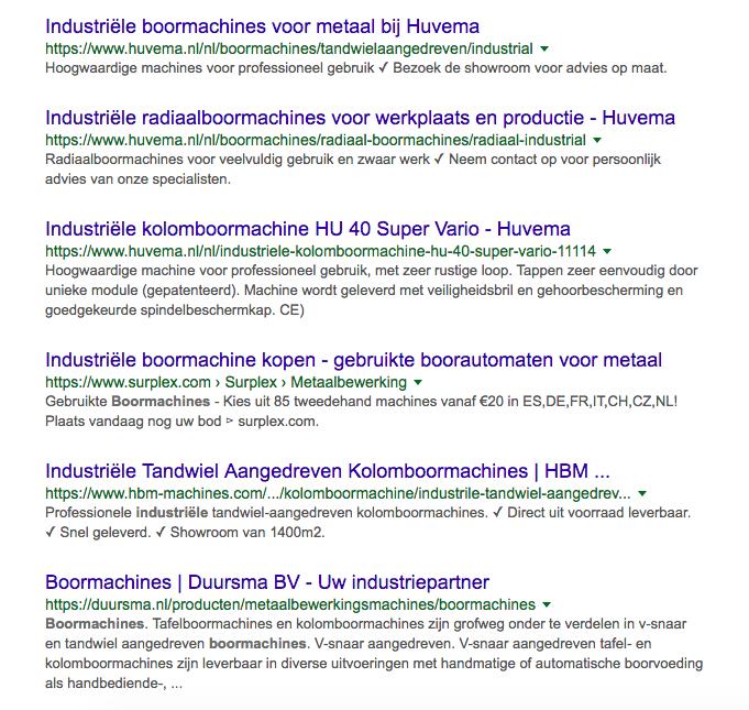 doelgroep bepalen google tool