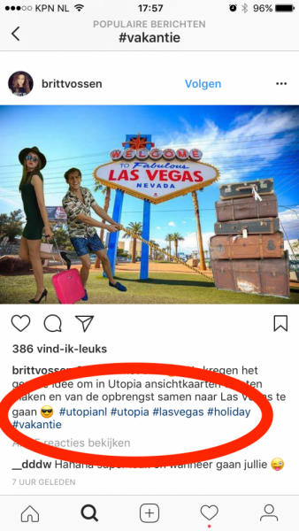 relevante hashtags vinden Instagram