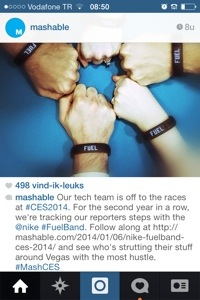 instagram eventverslag