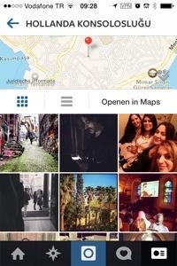 instagram lokatie