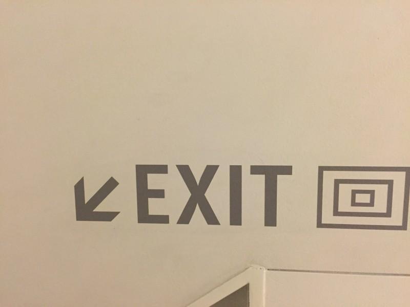 exit disruptie