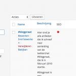 Je blog opruimen: nog meer over categorieën en tags