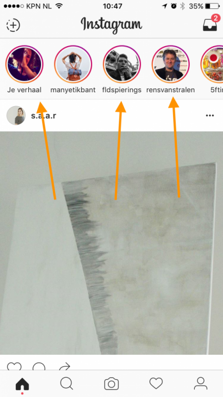 instagram stories uitleg