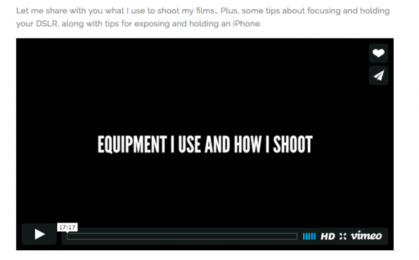 online trainingen film maken