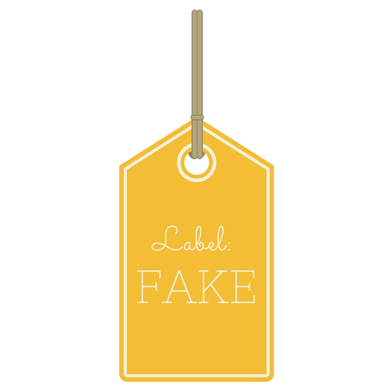 fake nieuws label