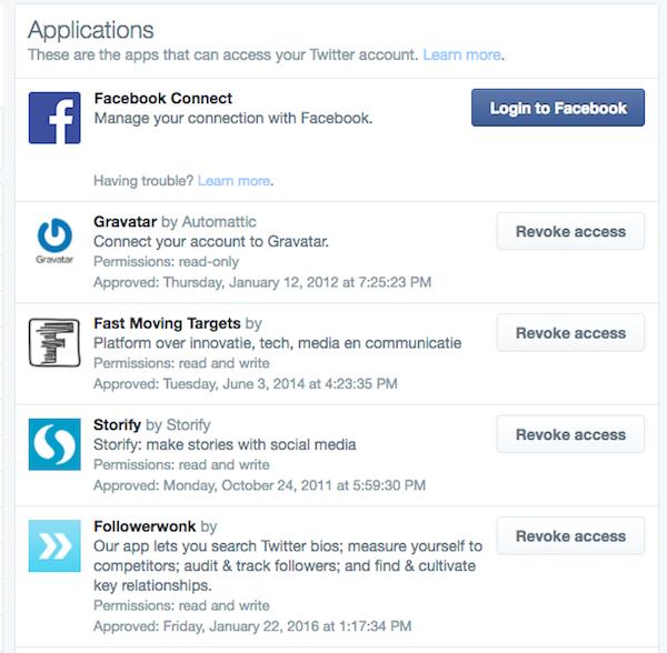 beveiliging corporate social media accounts
