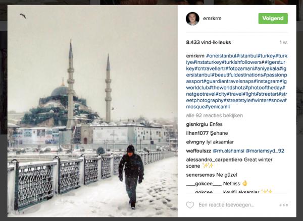Turkse fotografen Instagram