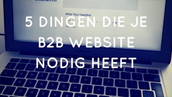 B2B website