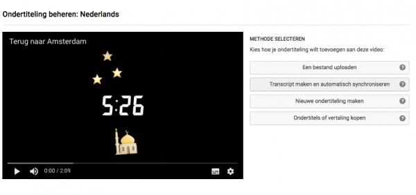 je youtube video ondertitelen