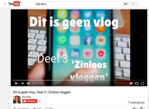 afbeeldingen gebruiken in youtube vlog