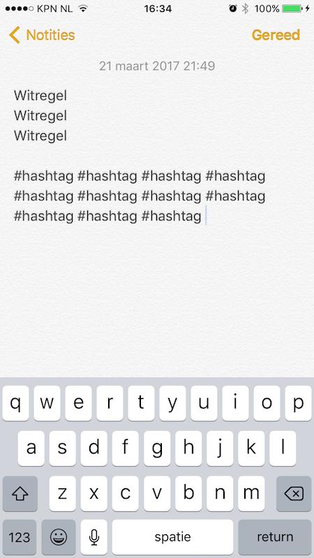 instagram voor bedrijven hashtags