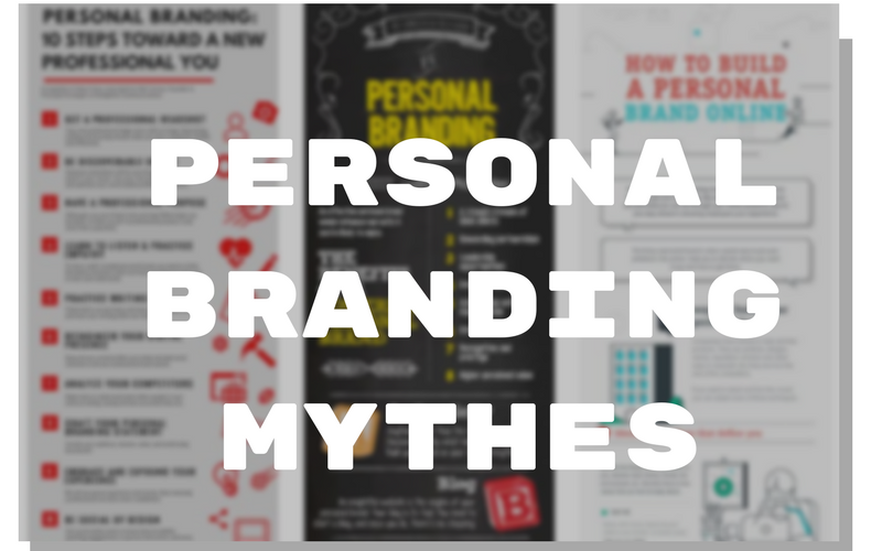 personal branding mythes