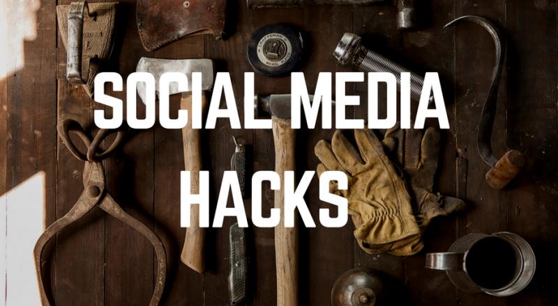 3 social media hacks