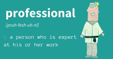 ben je een professional