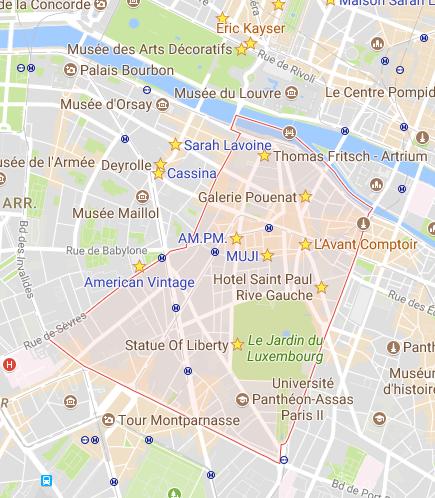 woonshoppen 6e arrondissement Parijs