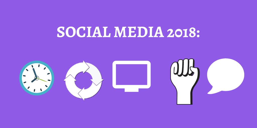 social media verwachtingen 2018
