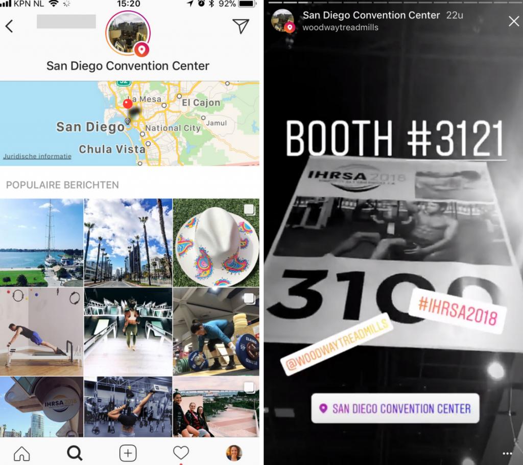 Instagram voor vakbeurzen en exposanten