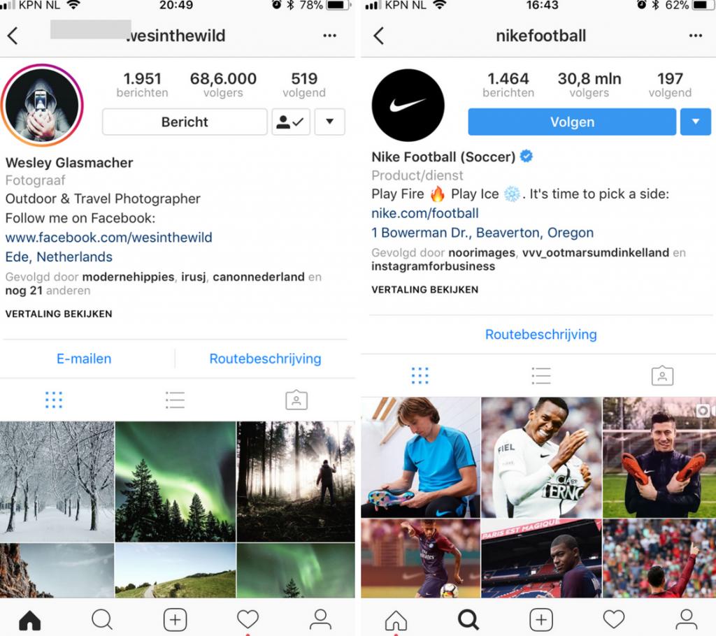 Instagram grid wat zet je op Instagram