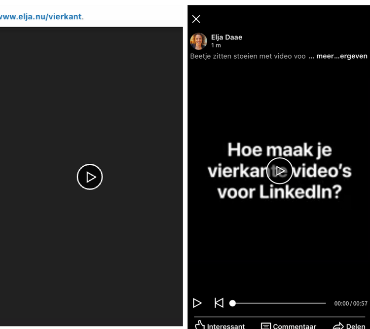 thumbnail linkedin video