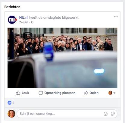 facebook omslagfoto gewijzigd