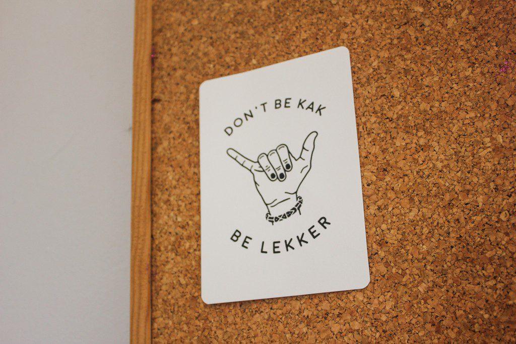don't be kak