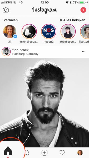 instagram story maken start