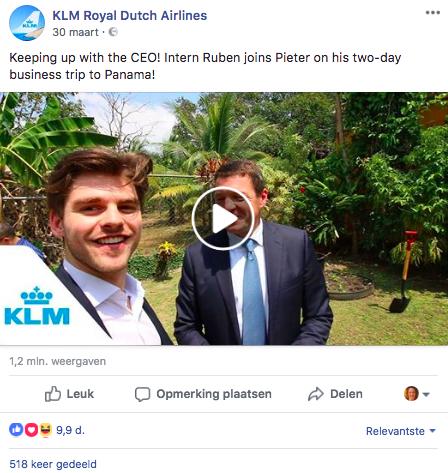 social media bedrijven zelfde content Facebook LinkedIn
