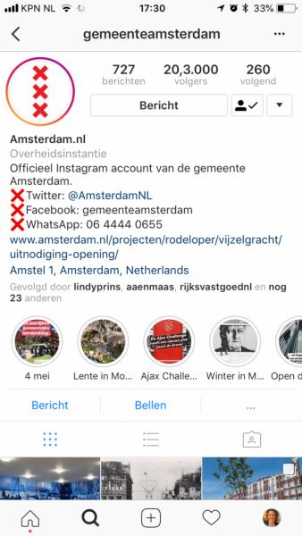 waar vind je instagram stories