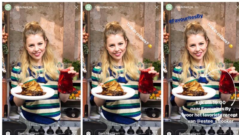 instagram stories formats foto met tekst hergebruiken 24kitchen