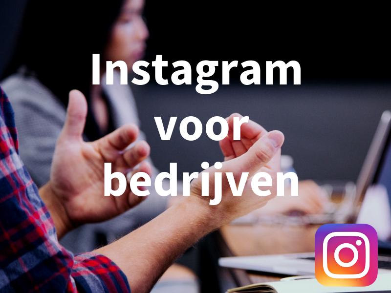 Workshop Instagram voor bedrijven