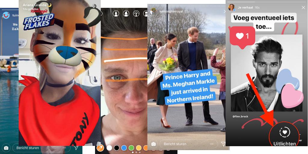 social media trends 2019 stories