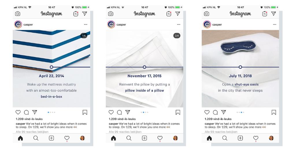 Instagramcontent carroussel en tekst 2