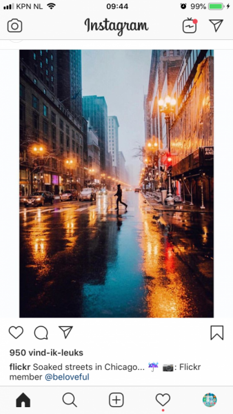 verticale afbeelding Instagram flickr