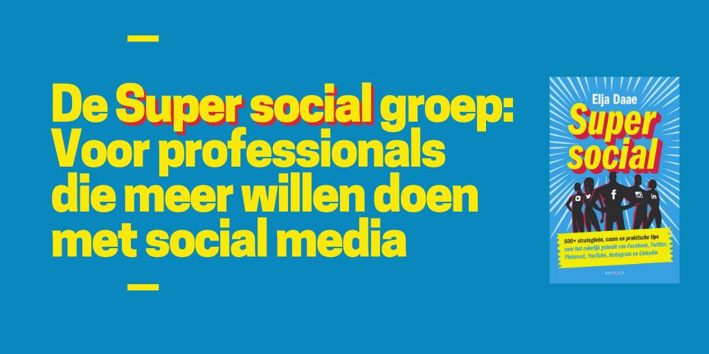 sociale media facebookgroep
