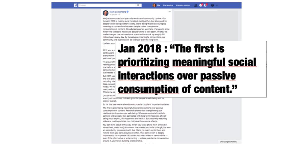 organisch bereik facebook