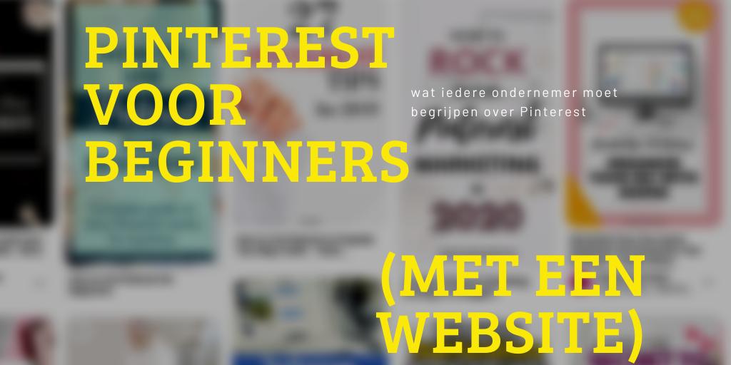 Pinterest voor beginners gids