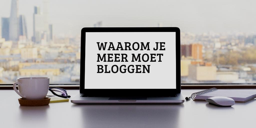 meer bloggen