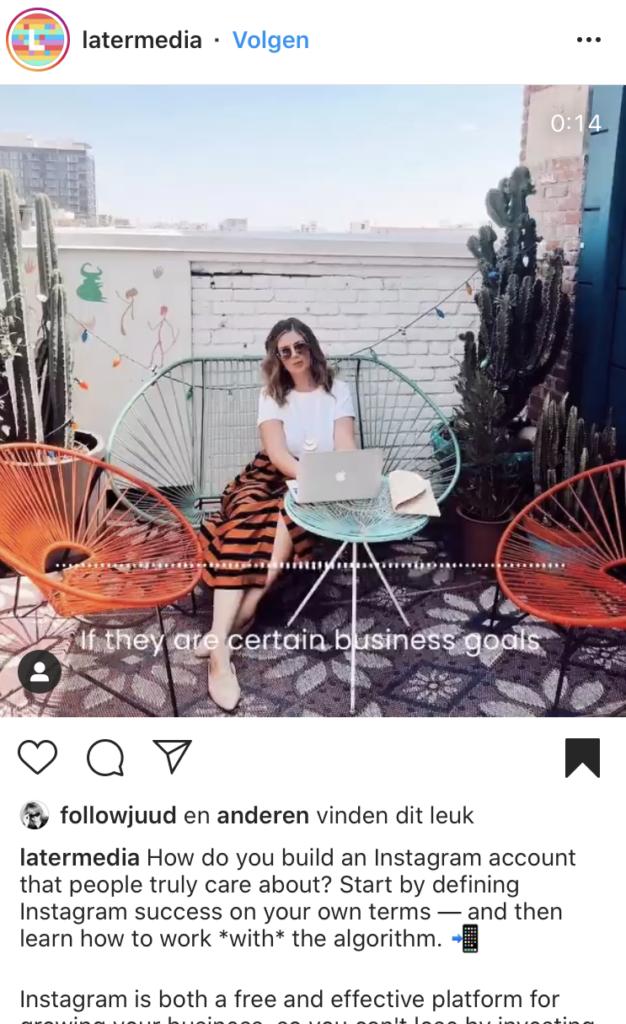Instagram doelgroep tips geven