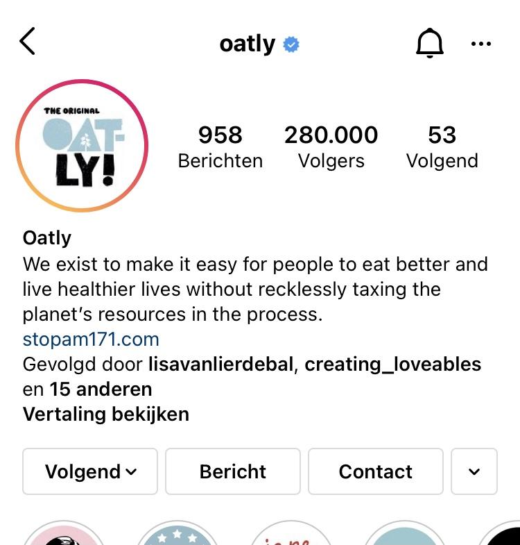 Waar vind je Instagram stories?