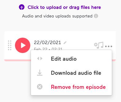 podcast maken edit audio