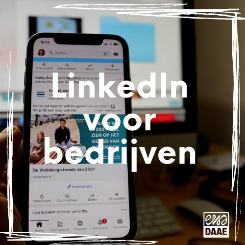 online workshop LinkedIn voor bedrijven