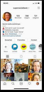 @supersocialboek Instagram