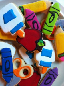 gelegenheidsmarketing: back to school cookies