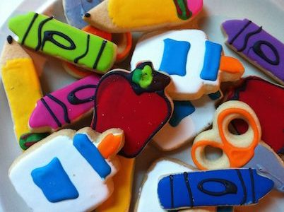 gelegenheidsmarketing: back to school cookies
