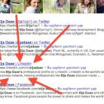 LinkedIn positie in zoekresultaten