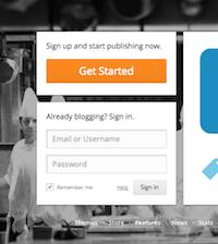 beginnen met bloggen op wordpress.com