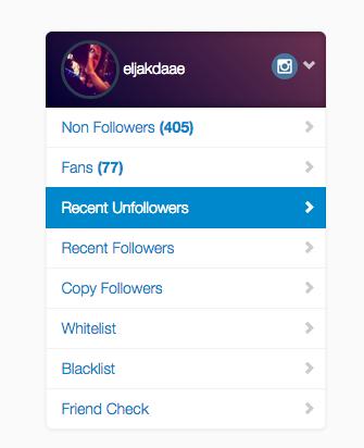 Onvolgen Instagramvolgers