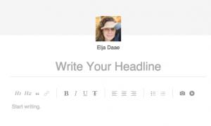 corporate bloggen op LinkedIn