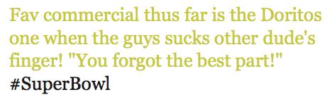 Dorito's reclame superbowl 2011
