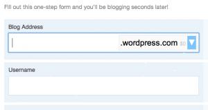 beginnen met bloggen op wordpress